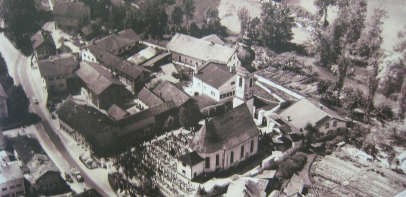 Altenmarkt in den 1950er Jahren